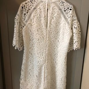 Bridal shower white Laundry dress, size 10